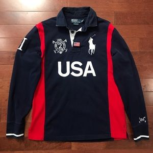 Polo Ralph Lauren USA Rugby Shirt